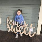 wooden cutouts monograms frisco texas nursery wedding