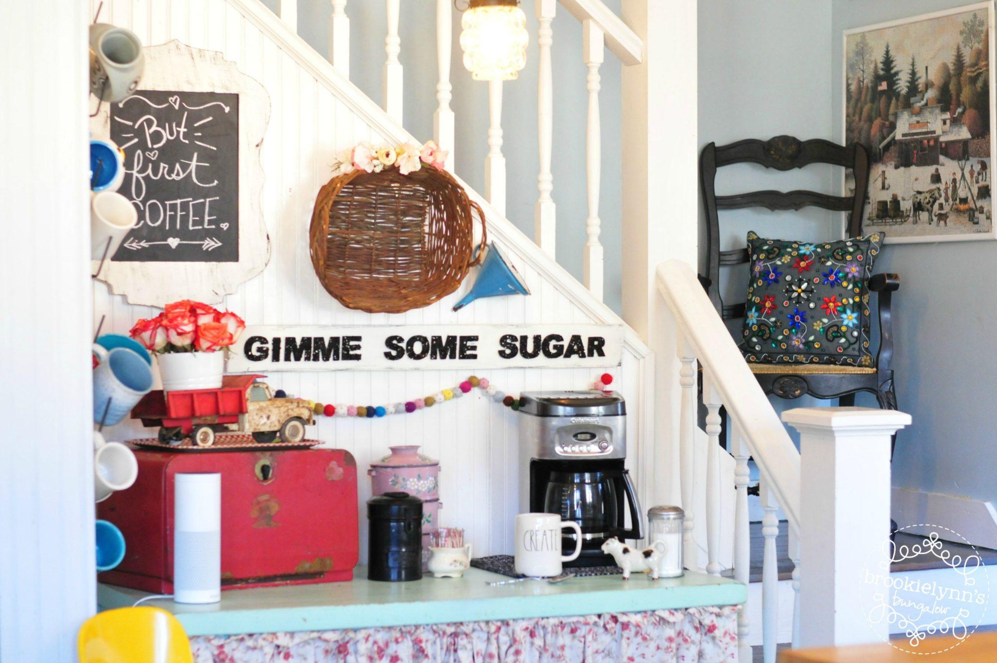 My 5 Favorite Coffee Bar Decorating Ideas