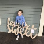 wooden cutouts monograms frisco texas nursery wedding