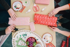 Christmas Gift Wrapping Swap Meet