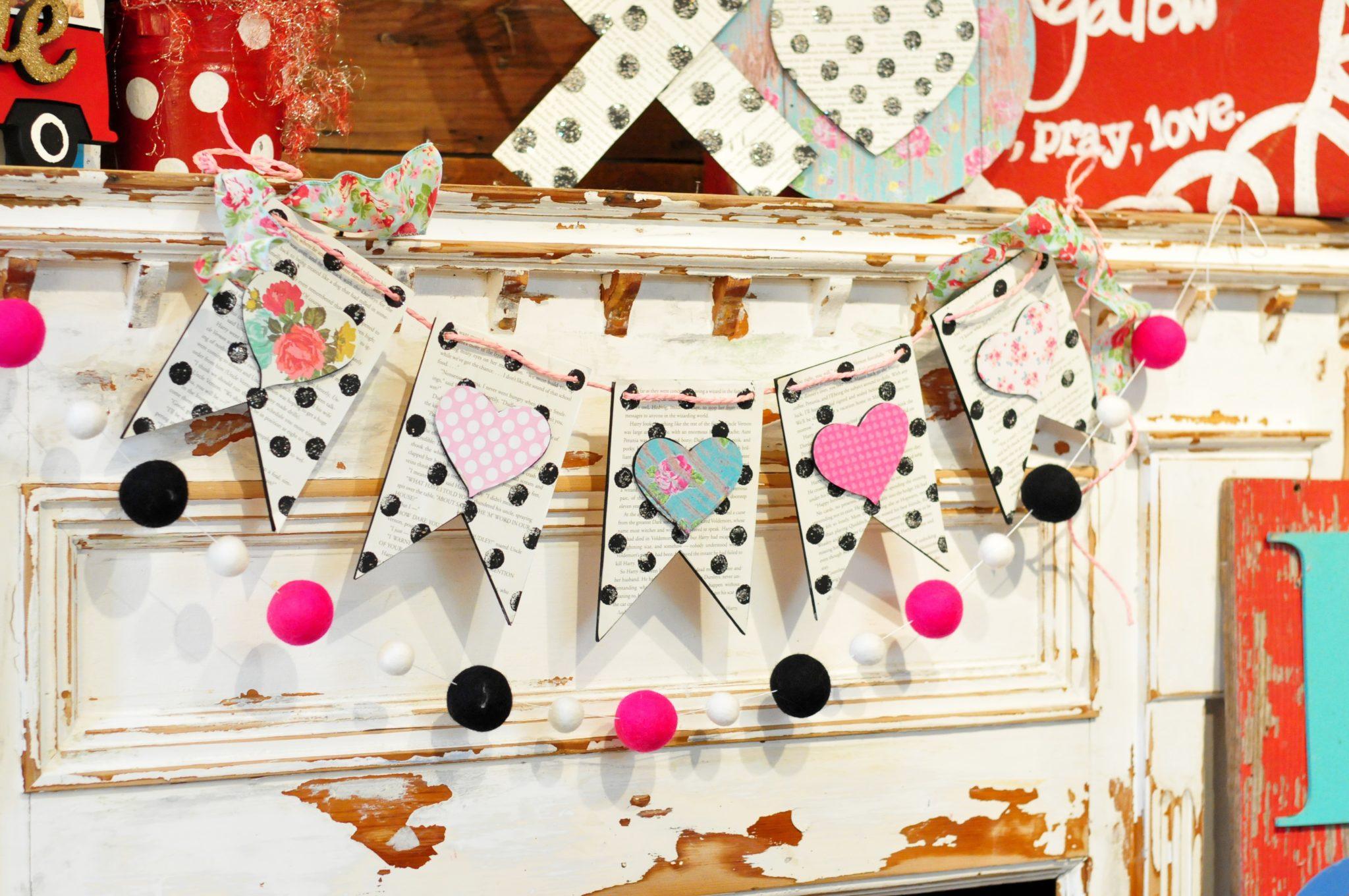 Valentine's Build a Bunting Workshop
