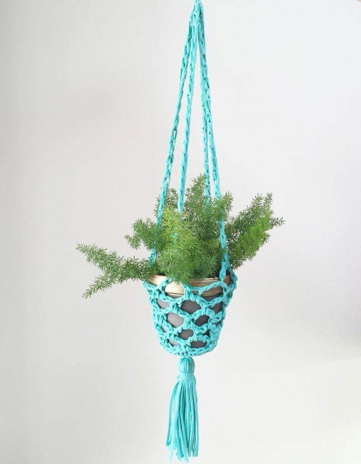 Macrame Easter Basket