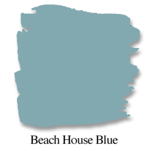 beach house blue chalk paint