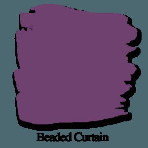 Beaded Curtain Chalk Paint