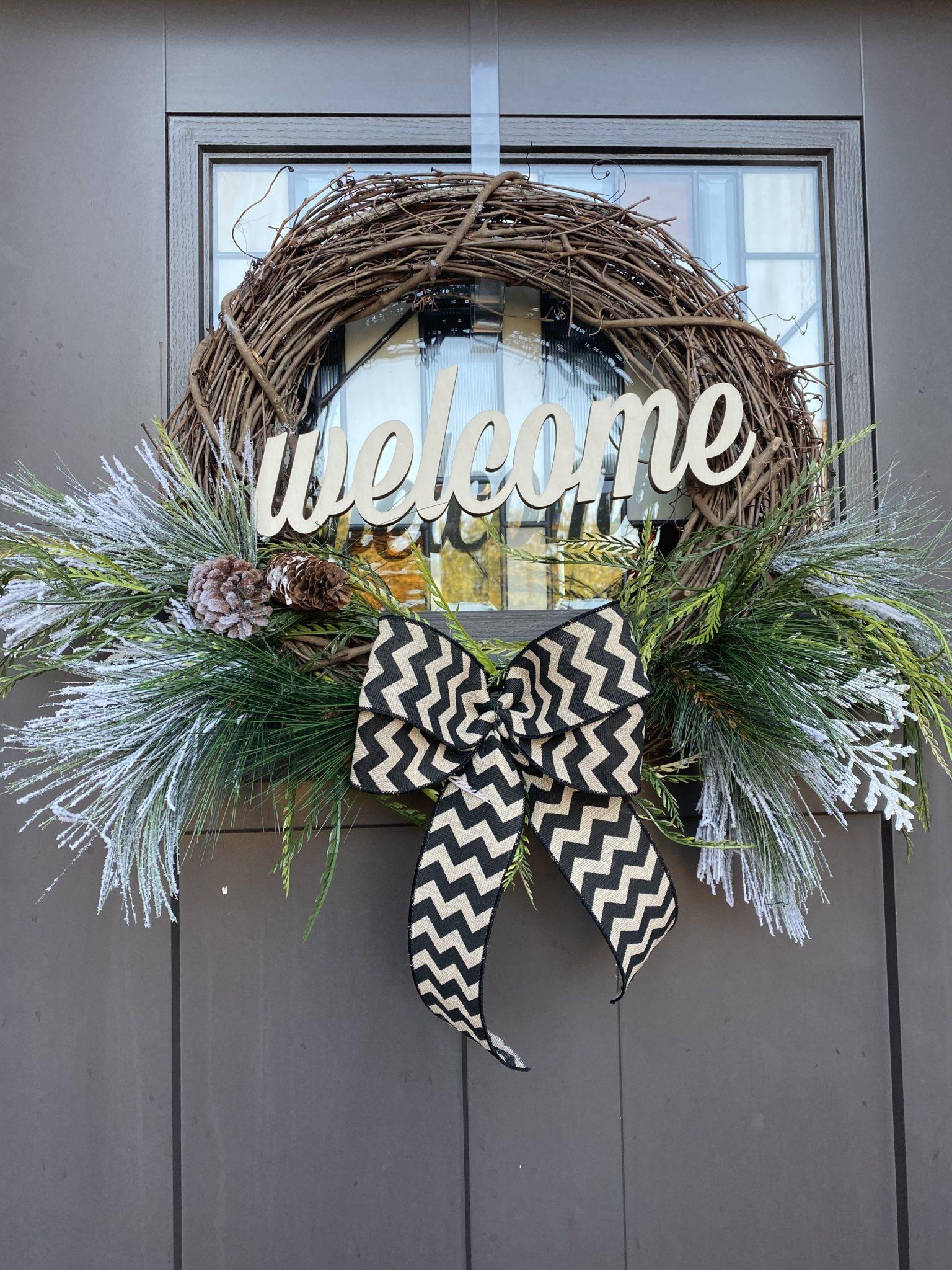 Large Winter Wreath Workshop
