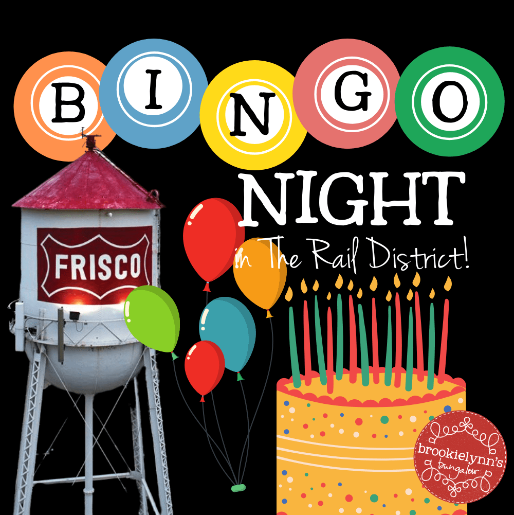 Bingo Night in The Rail District — Birthday Bash!