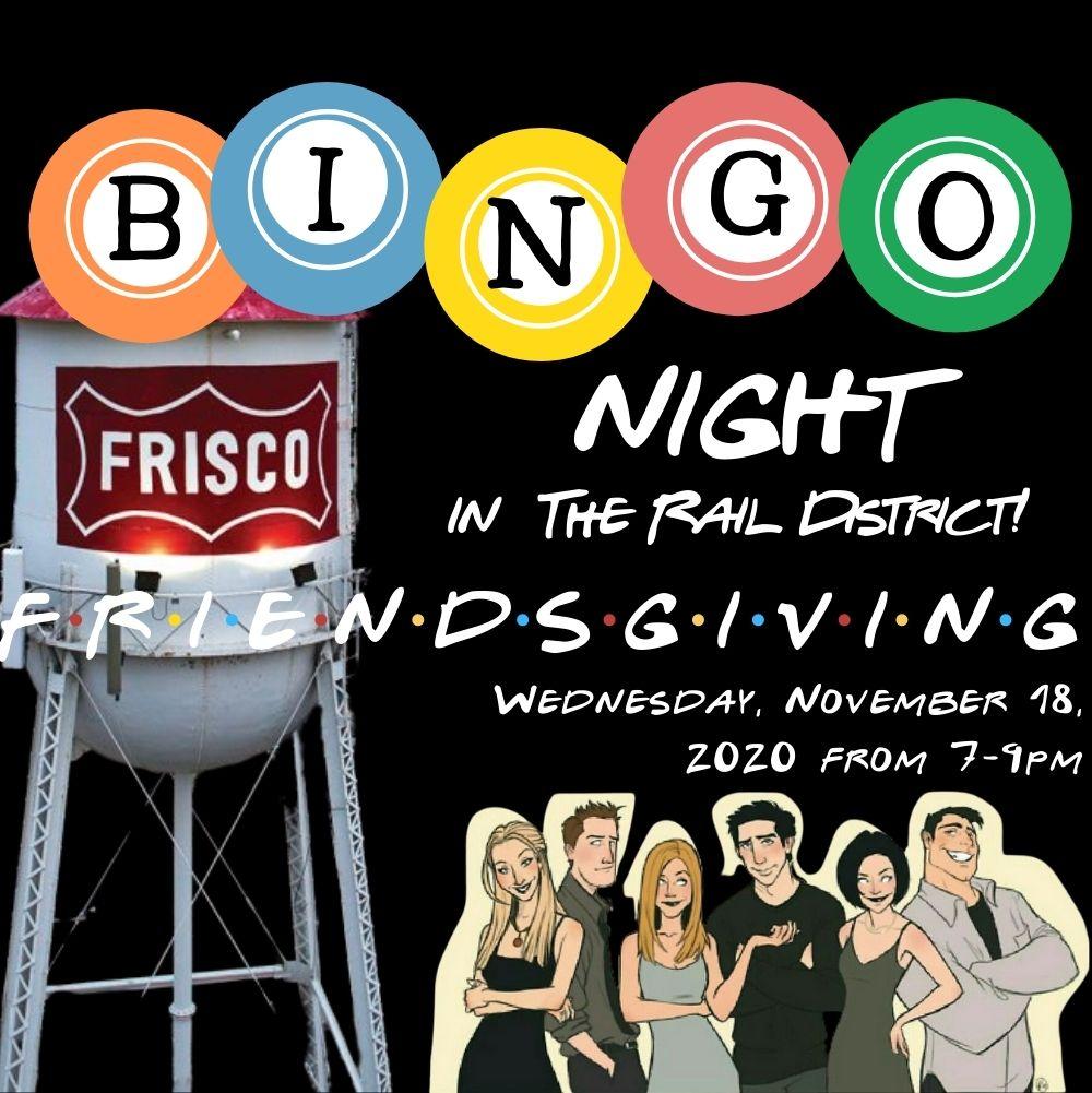 Friendsgiving Bingo Night in the Rail District