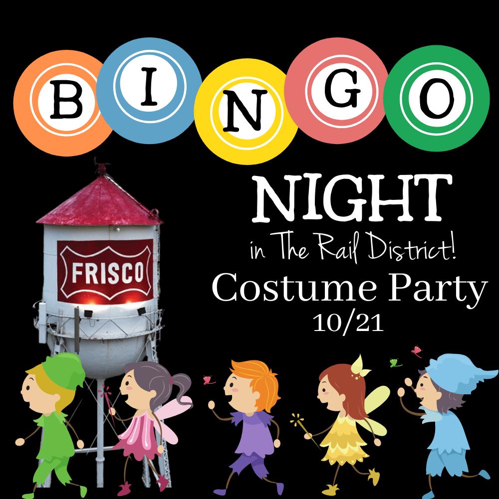 Bingo Night in the Rail District